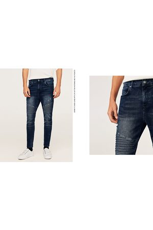 Zara DENIM BIKER SKINNY - Disponible en más colores