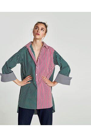 la mejor moda que buen look venta minorista TÚNICA RAYAS COMBINADAS