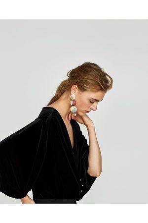 Zara BODY TERCIOPELO PERLAS - Disponible en más colores
