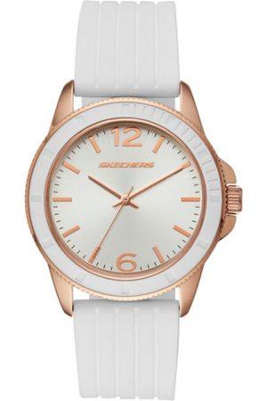 f7ae32c58d88 Skechers Stripe Texture Silicone SR6087 Reloj para Dama Color Blanco