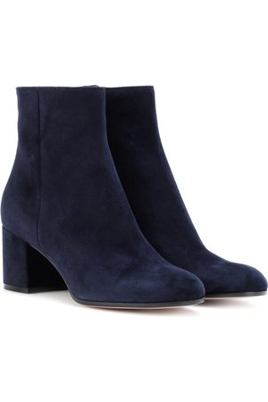 Gianvito Rossi Mujer Botines - Margaux Mid suede ankle boots