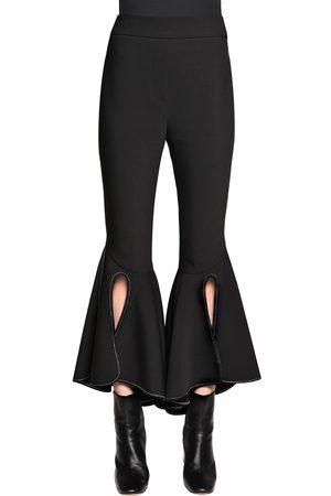 Ellery Pantalones De Gabardina De Lana