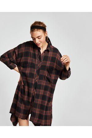 540e267cb4 Vestidos Camiseros de mujer Zara camisa negra ¡Compara ahora y compra al mejor  precio!