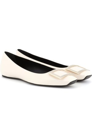 Roger Vivier Mujer Flats - Trompette patent leather ballerinas