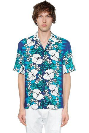 Estampada Camisa De De Viscosa Dsquared2 Camisa Dsquared2 Viscosa Estampada Dsquared2 Camisa dH7XqXw