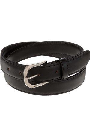 Cinturón liso Amicci de piel para niño