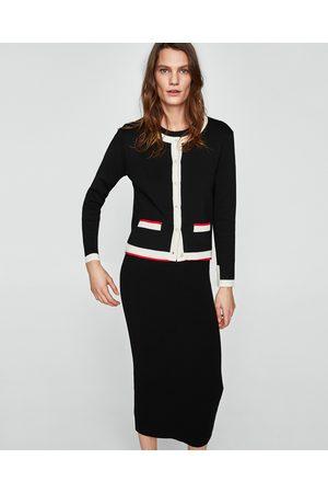 Zara FALDA TUBO BANDA LATERAL - Disponible en más colores