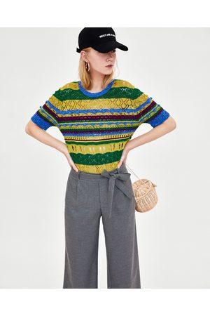 Zara PANTALÓN CROPPED - Disponible en más colores