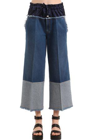 Moncler Pantalones Rectos fucsia
