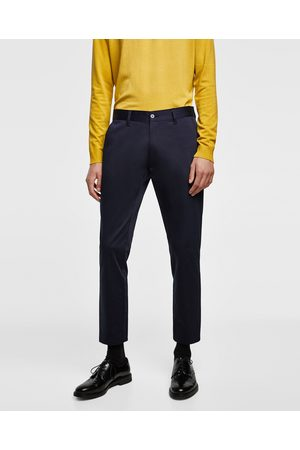 Zara PATANTALÓN CHINO SLIM CROPPED - Disponible en más colores