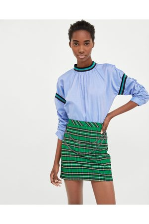 384981e8a Rayas Faldas Estampadas de mujer color verde ¡Compara ahora y compra al  mejor precio!