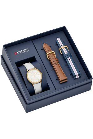Box set de reloj para dama Chaps Whitney CHP9010