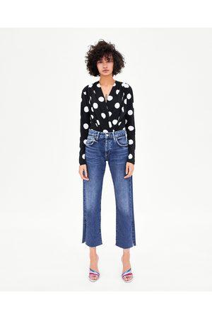 Zara Mujer Body - BODY ESCOTE EN PICO - Disponible en más colores