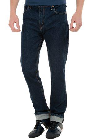 Jeans Levi's 511 corte slim fit algodón azul oscuro