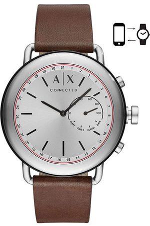 Hombre Relojes - Smartwatch híbrido para caballero A/X Luca AXT1022 café