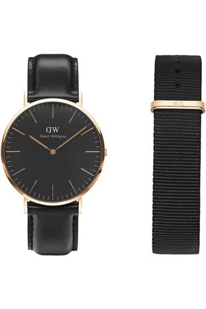 Box set para caballero Daniel Wellington Bundle Classic Black DW00500097