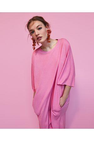 Zara Mujer Blusones - TÚNICA OVERSIZE TEXTURA - Disponible en más colores