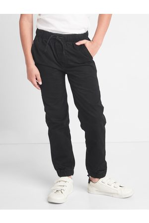 Pantalones Mezclilla Moda Joggers De Infantil Color Negro Fashiola Mx