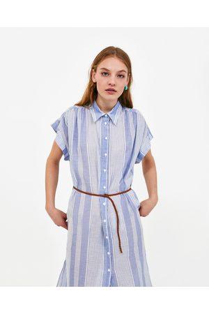 Zara Mujer Camiseros - VESTIDO CAMISERO CINTURÓN - Disponible en más colores