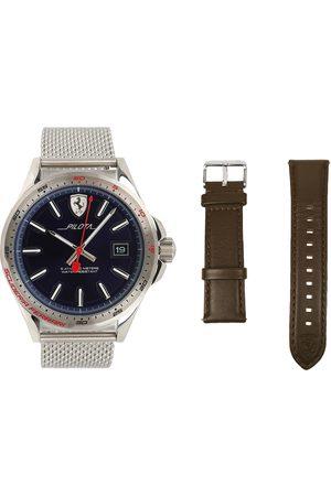Box set de reloj para caballero Ferrari Pilota 830491