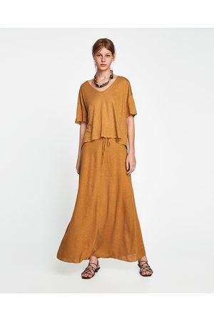 8bd40da03 Faldas de mujer Zara maxi ¡Compara ahora y compra al mejor precio!