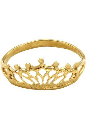 Anillo para dama Dinasti Corona de oro 14 k
