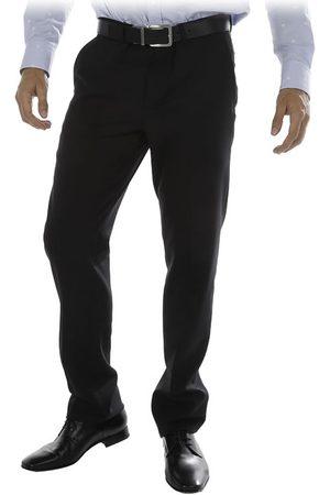 Calvin Klein Pantalón de Vestir Corte Slim de Lana