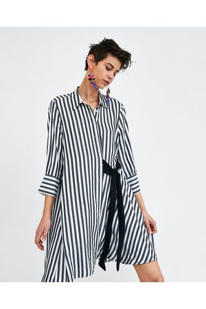 Zara Mujer Camiseros - VESTIDO CAMISERO LAZO