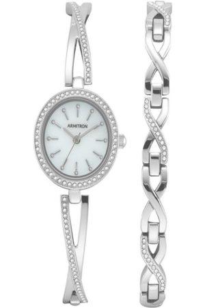 Box set reloj para dama Armitron 755486MPSVST