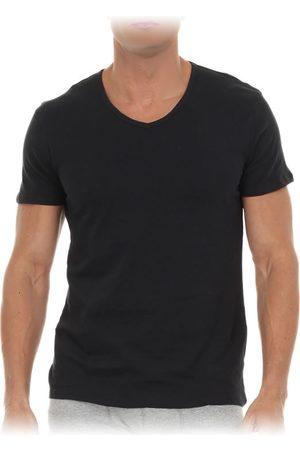 Puma Camiseta Corte Regular Cuello en V de Algodón Blanca