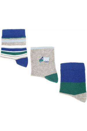 Niña Calcetines - Punto Blanco Set de Calcetines para Niña