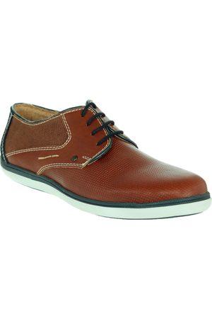 Zapato derby Fenutti piel café