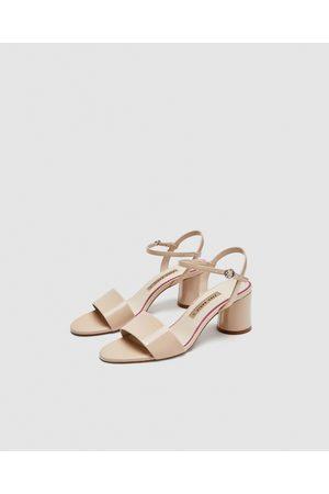 e10d4f4b Sandalias De Tacón de mujer Zara las ¡Compara ahora y compra al ...