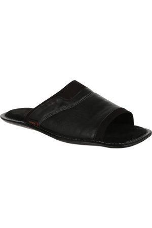Pantufla JBE piel negra