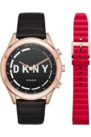 Box set de Smartwatch híbrido para dama DKNY Minute Woodhaven NYT6102