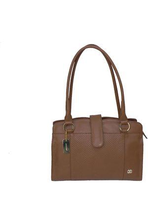 Mujer Bolsas de mano - Bolsa satchel lisa Gino Goganni piel