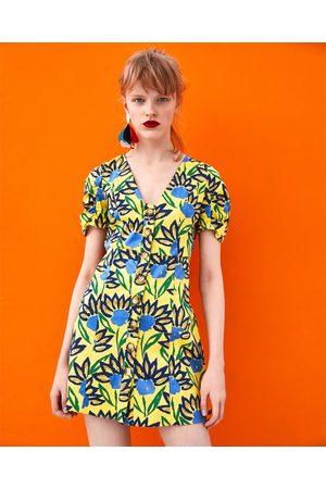 e521badf8b Vestidos de mujer Zara amarillas ¡Compara ahora y compra al mejor precio!