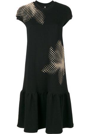 Ioana Ciolacu Vestido estilo camiseta con cinturilla caída