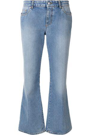 Alexander McQueen Jeans acampanados