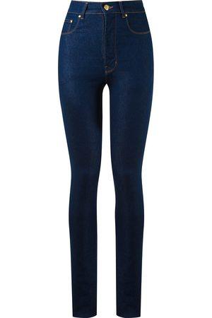 AMAPÔ Skinny jeans de talle alto