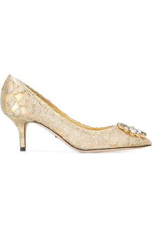 """Dolce & Gabbana Zapatillas con encaje """"Bellucci"""""""
