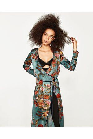 Zara mujer vestidos estampados