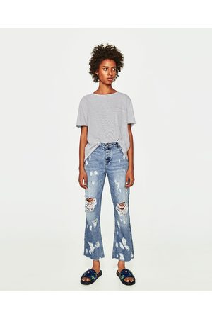 Zara JEANS RELAXED FIT TIRO MEDIO