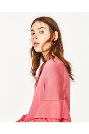 Zara JERSEY VOLANTE - Disponible en más colores