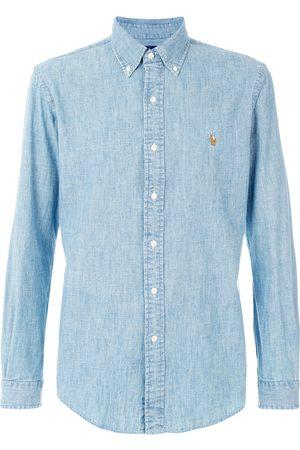Ralph Lauren Camisa de cambray con botones