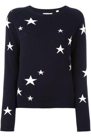 Chinti & Parker Suéter Intarsia con diseño de estrellas