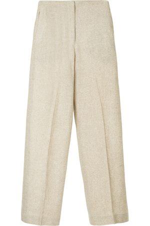 Bambah Pantalones de pinzas efecto moteado