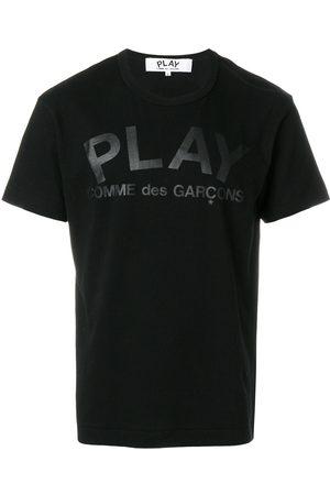 Comme des Garçons Playera con detalle de la marca