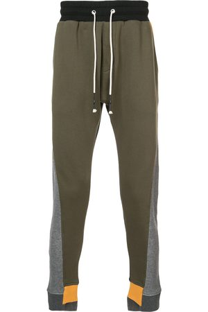 MOSTLY HEARD RARELY SEEN Pantalones joggers con colour block
