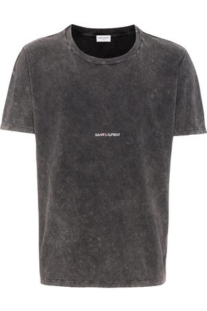 Saint Laurent Playera con logo